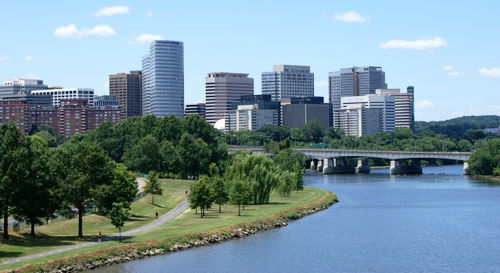 View of Arlington, Virginia
