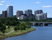 View of Rosslyn from the Potomac River